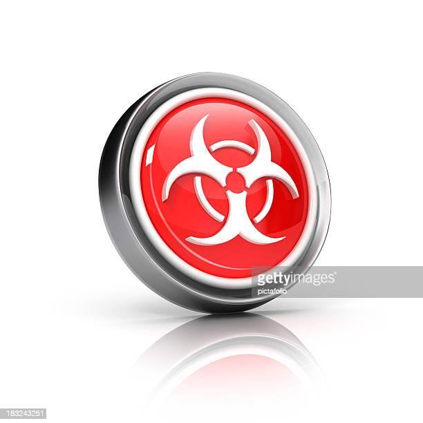 Ícone de resíduos biologicamente perigosos