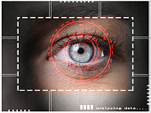 retina biometric scan