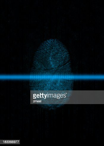 Biometrics: Fingerprint digitizing
