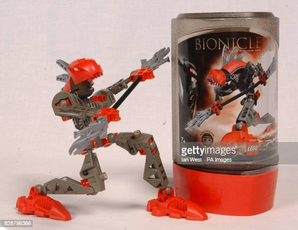 Bionicle one of the top 10 toys children are expected to want for Christmas on show at Dream Toys 2003 Teenage Mutant Ninja Turtles one of the...