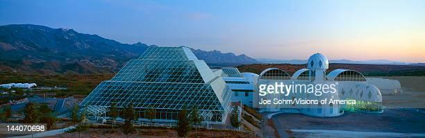 Biosphere 2 at Sunset Arizona