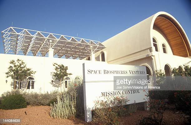 Biosphere 2 mission control center at Oracle in Tucson AZ