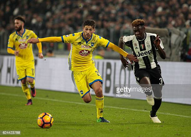 Bioty Moise Kean during Serie A match between Juventus v Pescara in Turin on november 19 2016