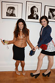 Bip Ling and Evangeline Ling attend a private view of Bailey's Stardust a exhibition of images by David Bailey supported by Hugo Boss at the National...