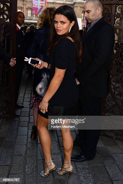 Bip Ling arrives to the Royal Academy Summer Exhibition Preview Party on June 4 2014 in London England