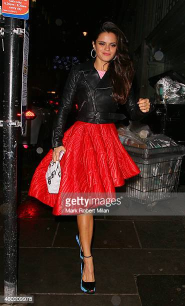 Bip Ling attending The Sunday Times Style Christmas party at Tramp night club on December 9 2014 in London England