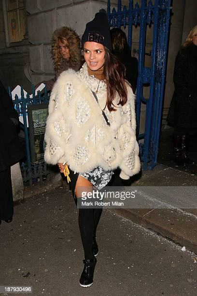 Bip Ling attending the the Somerset House skate launch on November 13 2013 in London England