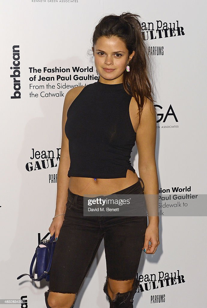 Bip Ling attends an exclusive reception for 'The Fashion World of Jean Paul Gaultier From the Sidewalk to the Catwalk' showing at the Barbican Art...