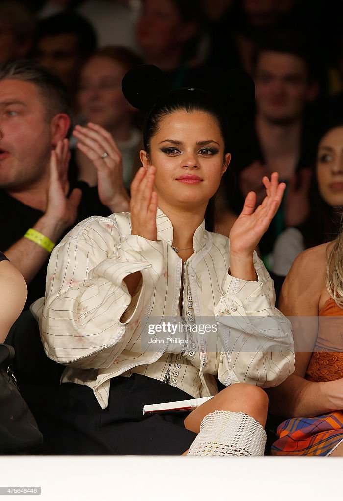 Bip Ling attends on day 4 of Graduate Fashion Week at The Old Truman Brewery on June 2 2015 in London England