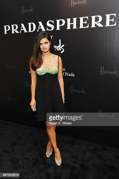 Bip Ling attends PRADASPHERE at Harrods on April 30 2014 in London England