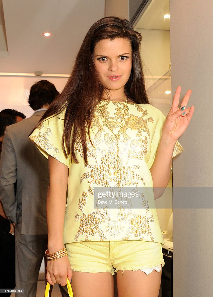 Bip Ling attends the 12th birthday of New York jewellery house Faraone Mennella, with guest of honour Patricia Field, at their Knightsbridge store on June 13, 2013 in London, England.