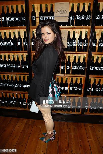 Bip Ling attends the Kiehl's private dinner to celebrate Kiehl's most iconic products at Balthazar Restaurant on March 26 2014 in London England