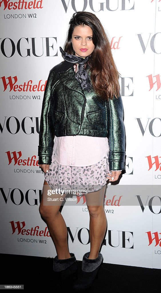 <a gi-track='captionPersonalityLinkClicked' href=/galleries/search?phrase=Bip+Ling&family=editorial&specificpeople=5953668 ng-click='$event.stopPropagation()'>Bip Ling</a> attends the launch of the Vogue Pop Up Club as part of Westfield London's 5th birthday celebrations at Westfield on October 30, 2013 in London, England.