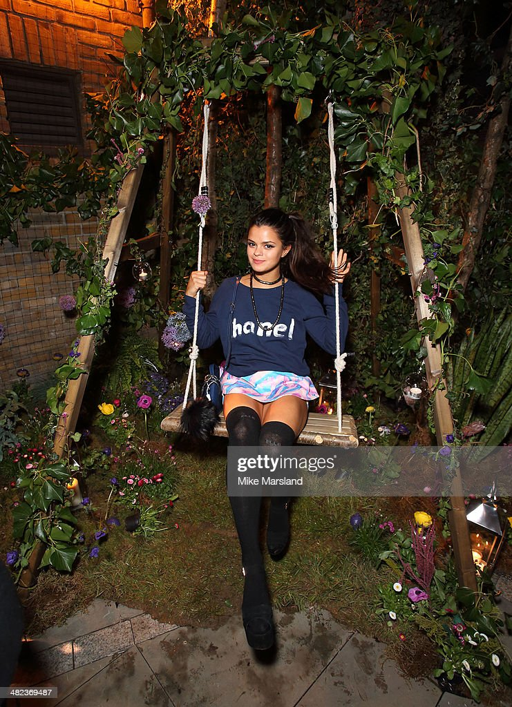 Bip Ling attends the Lululemon launch party to celebrate there first store in UK on April 3 2014 in London England