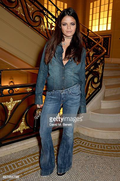 Bip Ling attends the Sindika Dokolo Art Foundation dinner at Cafe Royal on October 18 2014 in London England