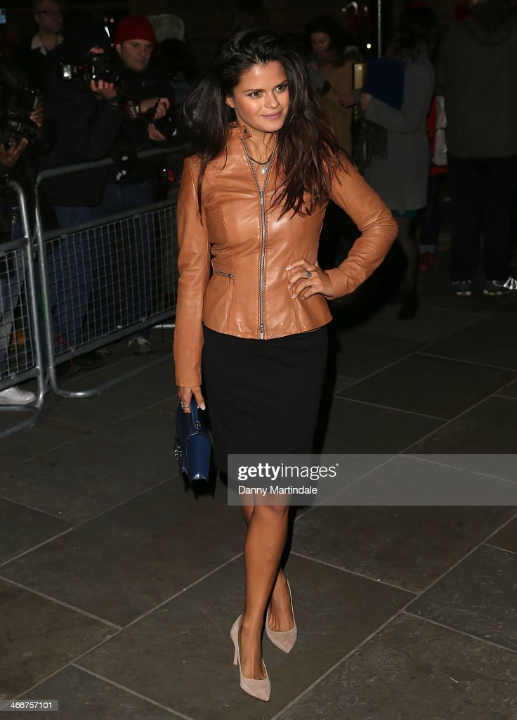 Bip Ling attends the VIP private view of David Bailey: Bailey's Stardust at National Portrait Gallery on February 3, 2014 in London, England.