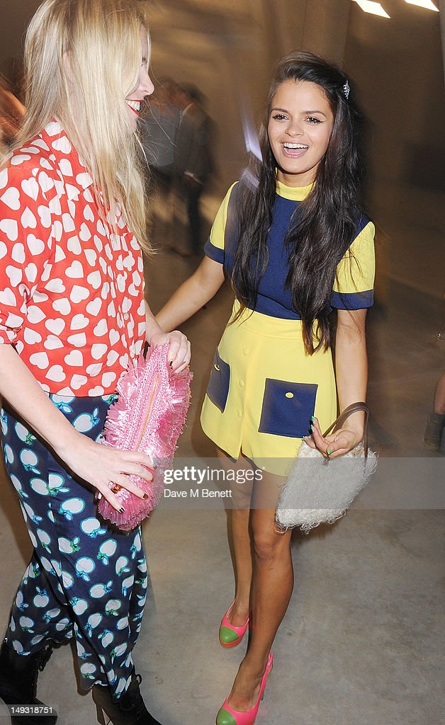 Bip Ling (R) attends the Warner Music Group Pre-Olympics Party in the Southern Tanks Gallery at the Tate Modern on July 26, 2012 in London, England