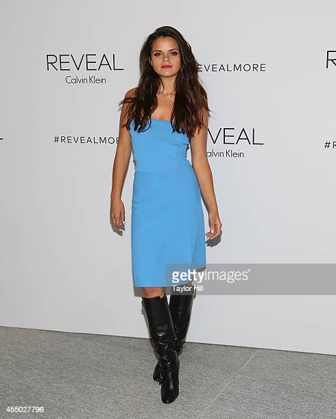 Bip Ling attens the REVEAL Calvin Klein Fragrance Launch Party at 4 World Trade Center on September 8 2014 in New York City