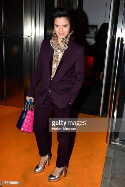 Bip Ling sighted arriving at Sushi Samba The Heron Tower on November 12 2013 in London England