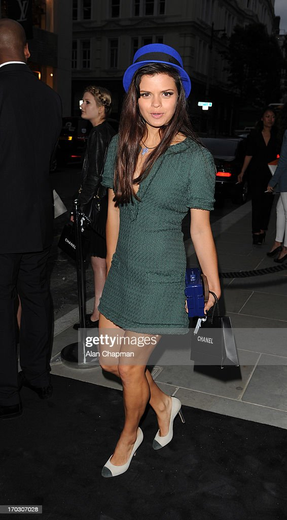 Bip Ling sighting at the new CHANEL flagship store Mayfair on June 10, 2013 in London, England.