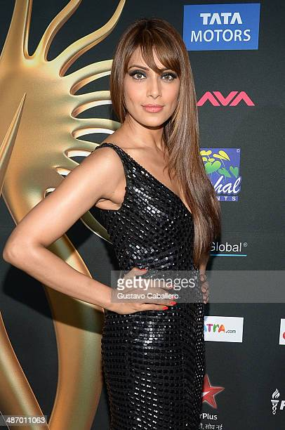 Bipasha Basu arrives to the IIFA Awards at Raymond James Stadium on April 26 2014 in Tampa Florida
