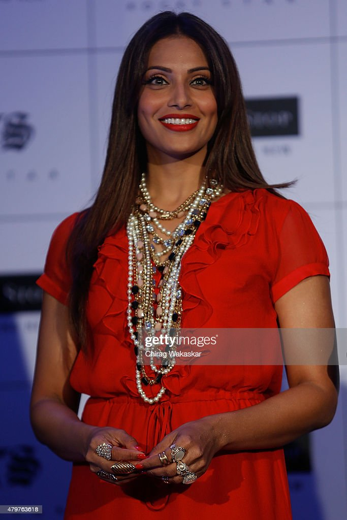 <a gi-track='captionPersonalityLinkClicked' href=/galleries/search?phrase=Bipasha+Basu&family=editorial&specificpeople=695956 ng-click='$event.stopPropagation()'>Bipasha Basu</a> presents Shoppers Stop's & Rocky Star's RS brand at JW Marriott on July 7, 2015 in Mumbai, India.