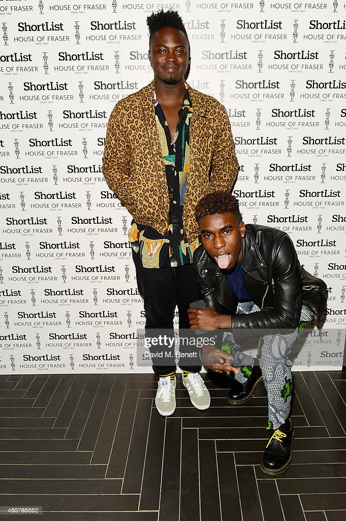 Bipolar Sunshine attends ShortList and House Of Fraser London Collections Men Closing night party at Chotto Matte on June 17 2014 in London England