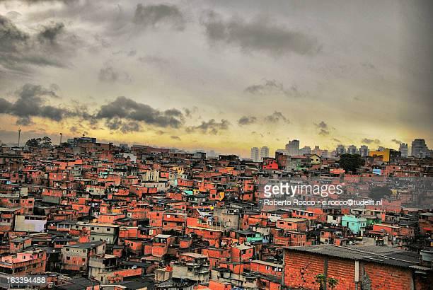Bird view Favela Paraisopolis
