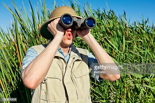 Observation ornithologique sur Safari