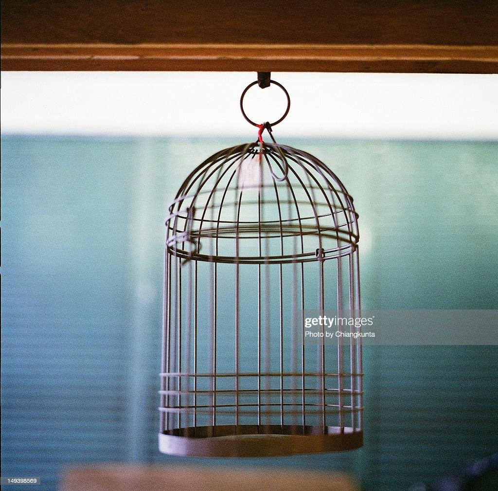 Birdcage : Stock Photo