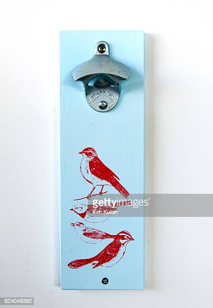 Birds are everywhere at Twitter Inc including this vintage style bottle opener in their San Francisco California headquarters Photo by Kim Kulish