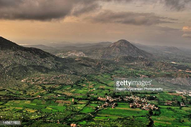 Bird's eye view of Nandi Hills