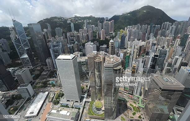 A bird's eye view of residential and commercial property in Hong Kong on July 8 2010 A report in the territories South China Morning Post indicated...