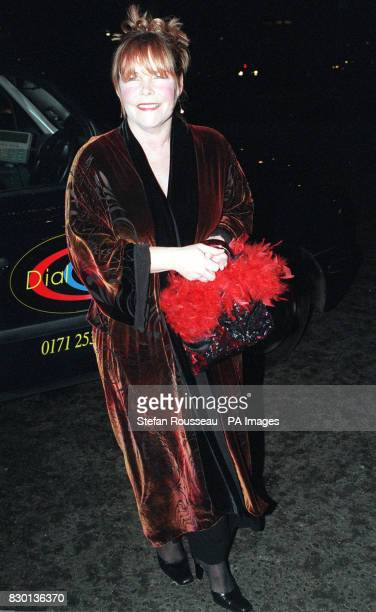 Birds of a Feather star Linda Robson arriving at a Valentine's Ball at the Hilton Hotel in London to raise money for the Rhys Daniels Trust Rhys died...