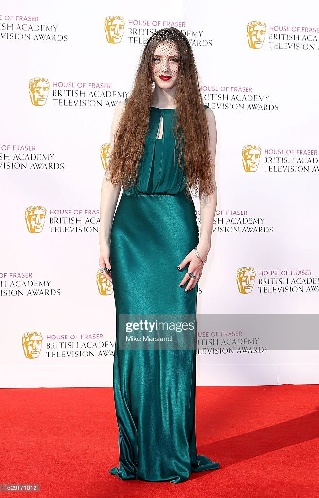 Birdy arrives for the House Of Fraser British Academy Television Awards 2016 at the Royal Festival Hall on May 8, 2016 in London, England.