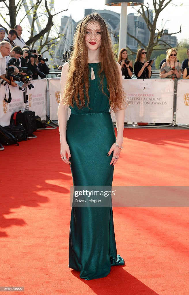 Birdy attends the House Of Fraser British Academy Television Awards 2016 at the Royal Festival Hall on May 8, 2016 in London, England.