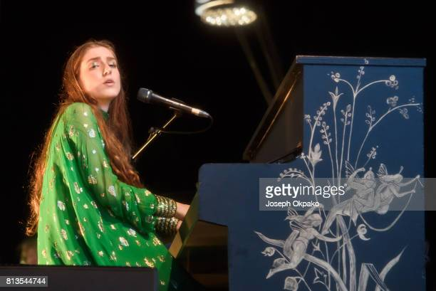 Birdy performing performing during the Somerset House Summer Series at Somerset House on July 12 2017 in London England