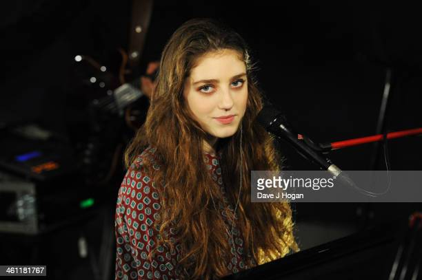 Birdy performs for a biz session on October 4 2013 in London England