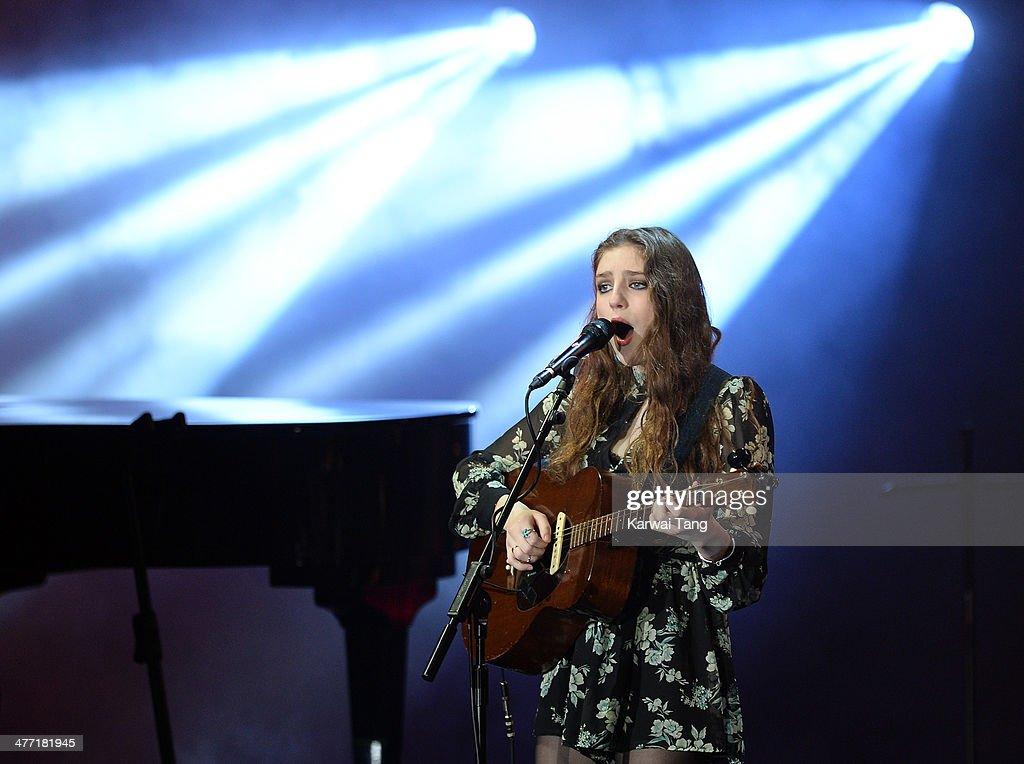 Birdy performs onstage at We Day UK, a charity event to bring young people together at Wembley Arena on March 7, 2014 in London, England.