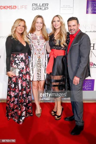 Birgit FischerHoeper german kick boxing champion Christine Theiss Sabine Piller and Pedro Da Silva attend the Kempinski Fashion Dinner on May 23 2017...