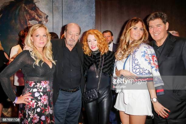 Birgit FischerHoeper German music producer Ralph Siegel and his girlfriend Laura Kaefer Songwriter Jack White and his wife Rafaella White during the...