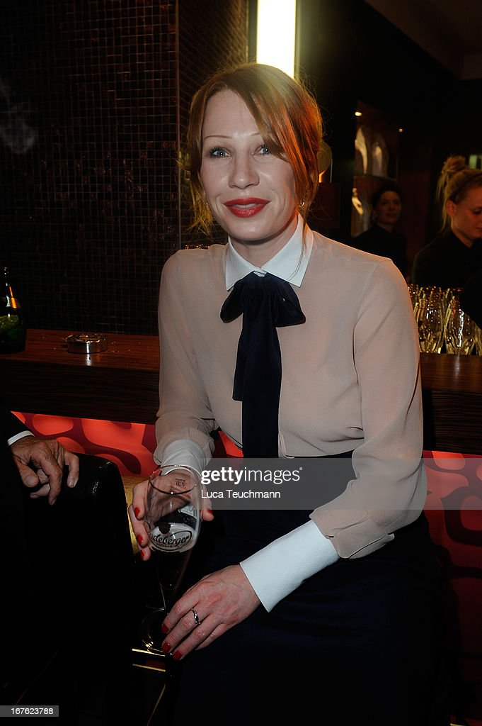 Birgit Minichmayr attends the Lola - German Film Award 2013 - Party at Friedrichstadt-Palast on April 26, 2013 in Berlin, Germany.