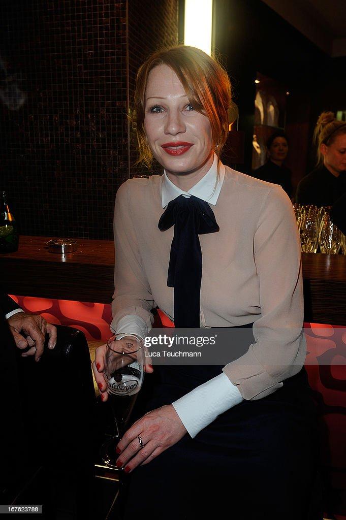 Birgit Minichmayr attends the Lola - German Film Award 2013 - Party at Friedrichstadt-Palast on April 26, 2013 in Berlin, Germany.