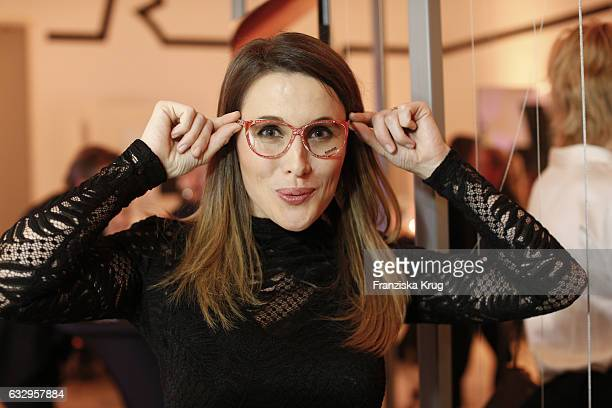 Birgit Noessing attends the Rodenstock Exhibition Opening Event at Museum of Urban and Contemporary Art in Munich on January 28 2017 in Munich Germany