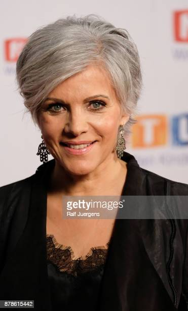 Birgit Schrowange attends the 22nd RTL Telethon on November 24 2017 in Huerth Germany