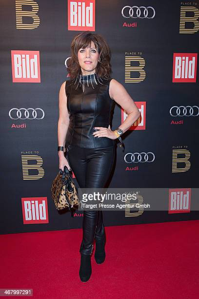 Birgit Schrowange attends the BILD 'Place to B' Party at Grill Royal on February 8 2014 in Berlin Germany