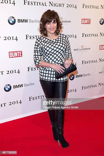 Birgit Schrowange attends the Bunte BMW Festival Night 2014 at Humboldt Carree on February 7 2014 in Berlin Germany