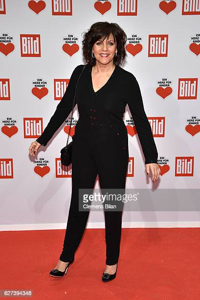 Birgit Schrowange attends the Ein Herz Fuer Kinder Gala 2016 on December 3 2016 in Berlin Germany