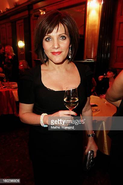 Birgit Schrowange attends the Lambertz Monday Night at Alter Wartesaal on January 28 2013 in Cologne Germany