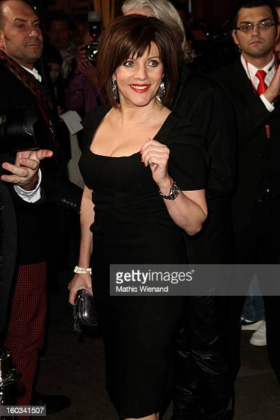 Birgit Schrowange attends the 'Lambertz Monday Night' at 'Alter Wartesaal' on January 28 2013 in Cologne Germany